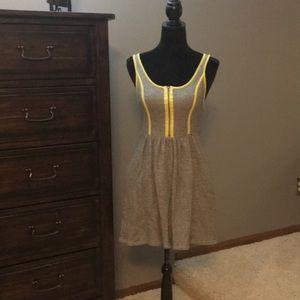 Kensie gray/yellow jumper